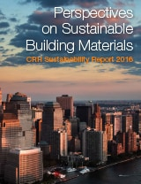 Bæredygtighed rapport 2016 | CRH Concrete