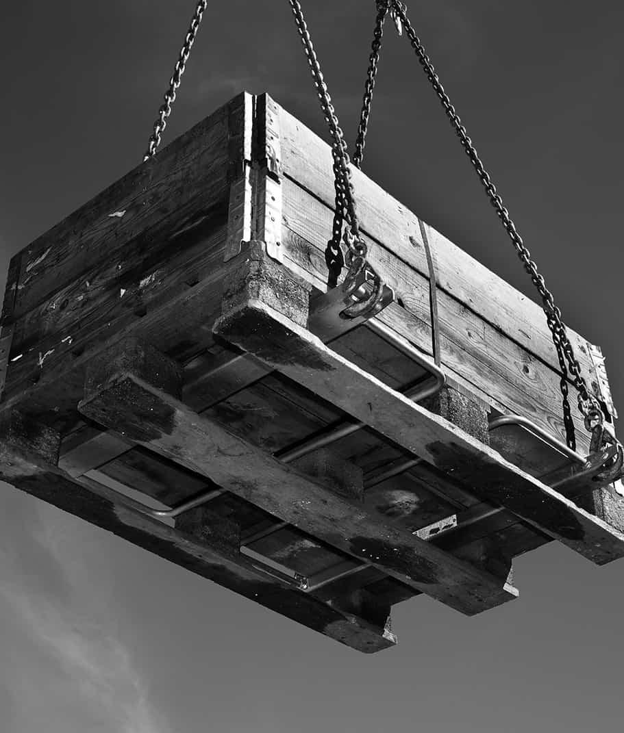 Pallet finger montage af betonelementer | CRH Concrete